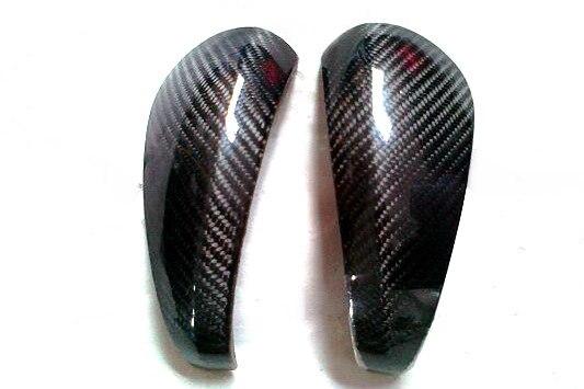 Cubierta de espejo de fibra de carbono Kit de estilo de coche apto para Caymans 987 Boxster S