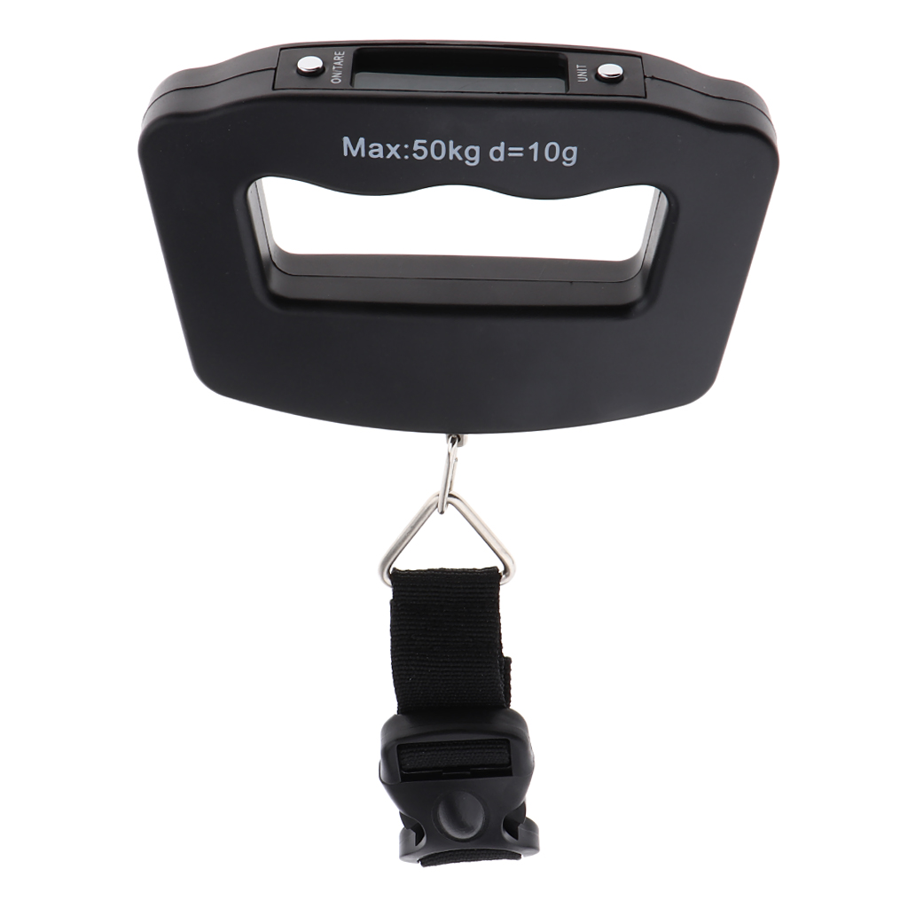 50KG Portable Electronic Digital Handheld Suitcase Luggage Box Weight Scales