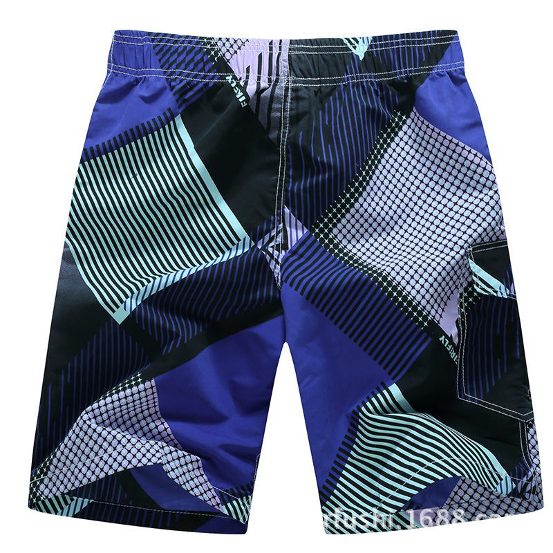 Days Pullen Genuine Product Summer Beach Shorts Men Loose-Fit Quick-Dry Beach Pants Casual Short Shorts Men's 1520 #