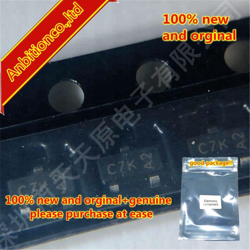 50pcs 100% New And Orginal DMN601K-7 Silk-screen C7K SOT23  In Stock