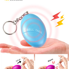 Alarm Keychain Protect Alert Self-Defense Scream Loud Girl Personal Safety Women Security