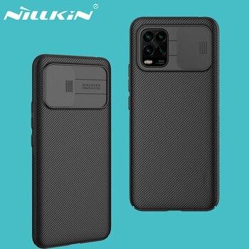 For Xiaomi Mi 10 Lite 5G Cover Mi 10 Youth 5G Case NILLKIN CamShield Case Slide Camera PC Back Cover For Xiaomi Mi10 Lite 5G