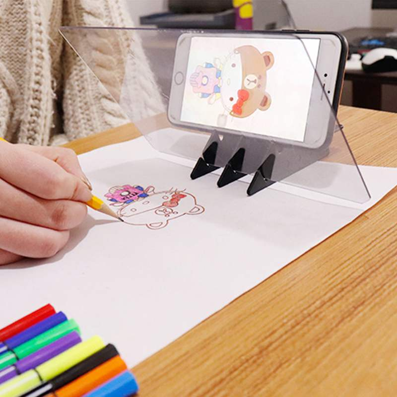Art Graphic Board USB LED Light Box Copy Board Phone Electronic Art Graphic Painting Writing Desk Classroom Supplies