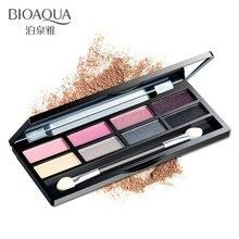BIOAQUA Eye shadow Makeup Shimmer Matte Fashion Eyeshadow Cosmetics Brush Make up Palette Nude Shadow