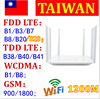 DONG ZHEN HUA LT260 Dual-Frequency 32 Wifi Users Modem 4G Router CAT6 1200Mbps High Speed Mobile Wifi Hotspot With SIM Card Slot
