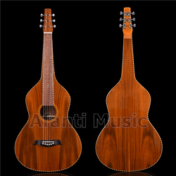 All Koa Wood Weissenborn Hawaiian Slide Guitar of Afanti Music (HG-850S)