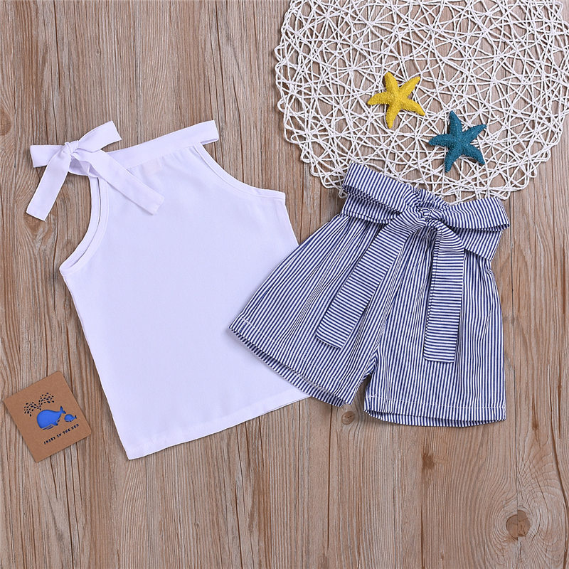 children clothes set kid girl summer outfit (2)