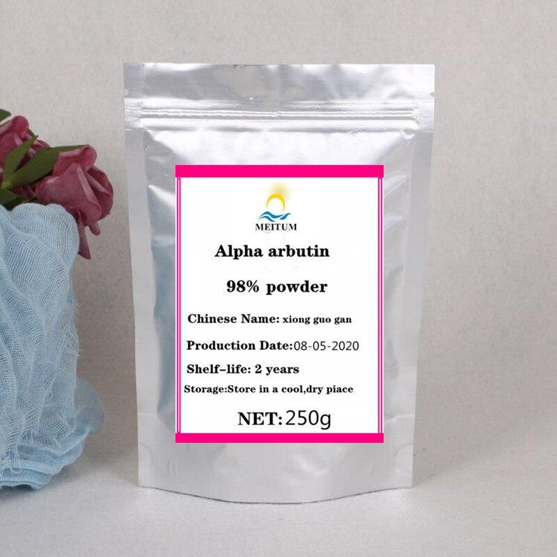 Alta qualidade natural alpha arbutin extrato em