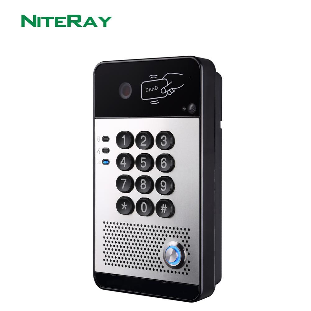 NiteRay SIP video me dyer të telit elektronik të kyçjes në derë - Siguria dhe mbrojtja - Foto 3