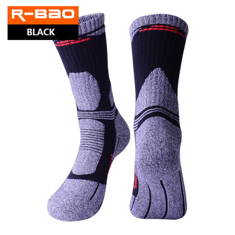 Cotton Outdoor Mountaineering Hiking Sports Socks Thicken Winter Keep Warm Cycling Socks For Men Women Ski Fishing Gym Unisex
