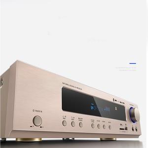 Image 3 - Kyyslb 650W 220V AK 558 Bluetooth Versterker 5.1 Kanaals Home Theater Ktv High Power Av Digitale Hifi Versterker Subwoofer sd Usb