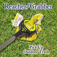 Foldable Garbage Tool Garbage Grabber Folding Grabber Pick Up Tool Trash Extend Pick Up Reaching Tool|Hand Push Sweepers| |  -