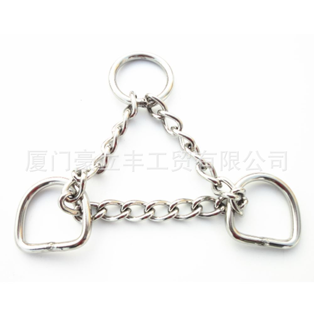 Dog Neck Ring Stainless Steel Pet Chain Twisted Chain Stainless Steel 304 Chain