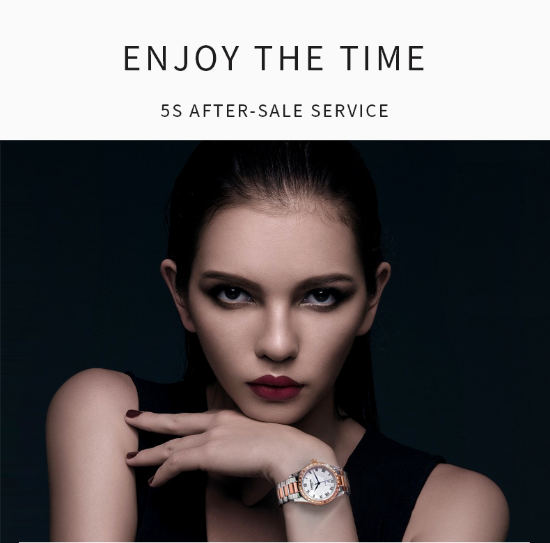 Carnival automatic watch women mechanical luxury brand original movement waterproof date watches gift for friend