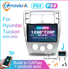 Car-Radio Hyundai Tucson 2din Android-10 Multimedia Screen-Navigation Audio Bluetooth