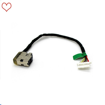 Laptop DC Power Jack Cable Charging Socket Port Wire Cord For HP 15-AY 15Z-BA 15-BN 15-AF131DX TPN-C125 TPN-C120 TPN-C122 image