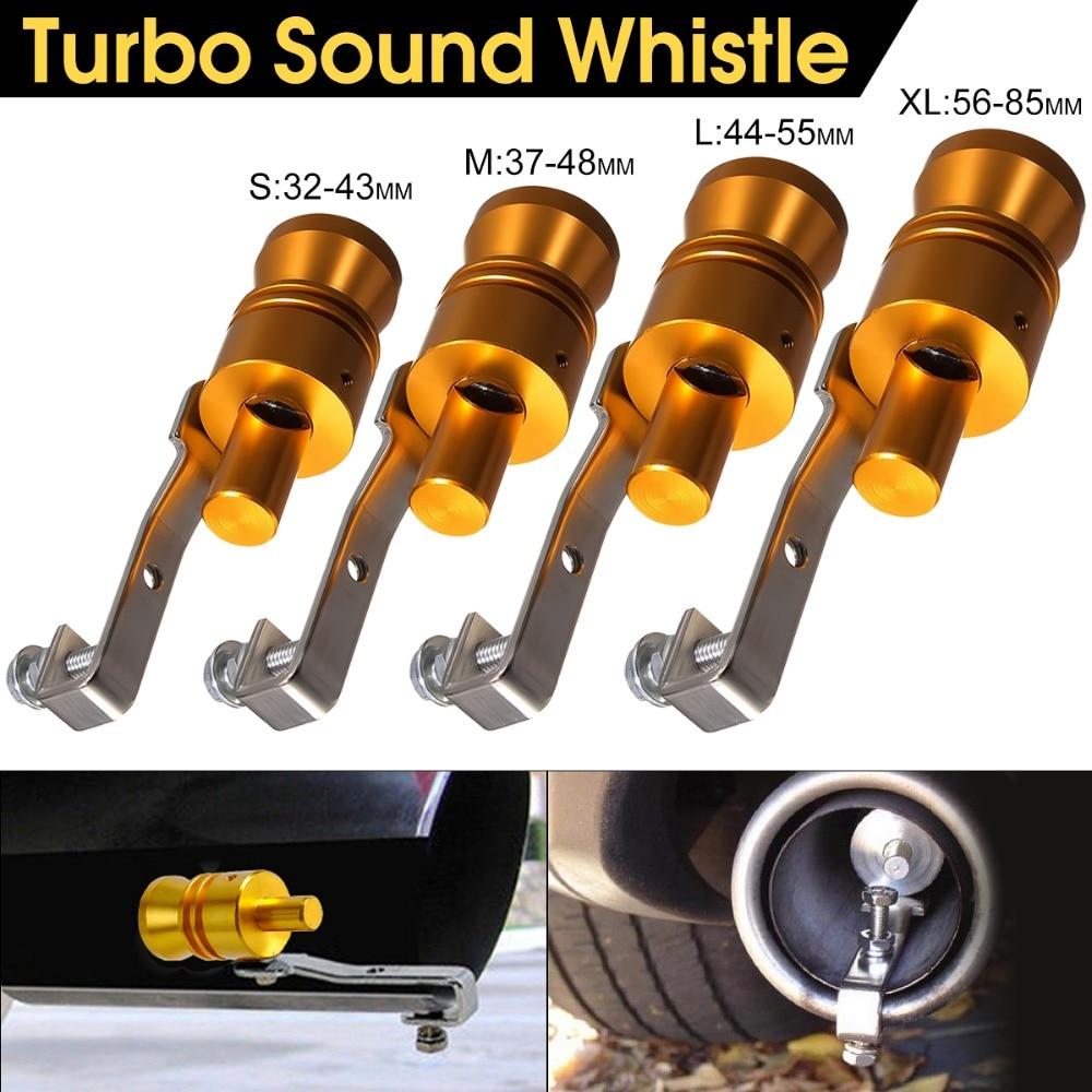 Universal Aluminium Autos Auto BOV Turbo Sound Pfeife Rohr Sound Simulator Rohr Auspuff Rohr