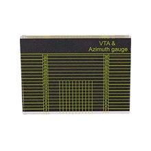 Azimute ajuste régua de medição vinil record player phono vta ângulo calibração calibre régua para fonógrafo turntable