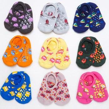 Calcetines infantiles a la moda suelo grueso antideslizante calcetines de dibujos animados de animales calcetines para niños pequeños material barato Dropshipping