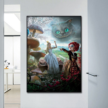 Spray Painting Home Decor Painting Andrea De Cruz sleepwalking fairy mirror canvas hanging murals core image