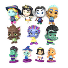Super Monsters PVC Action Figure Toy Kids Collection Model Dolls Toy For Kids Birthday Gift 4pcs lot super climber stikbot action figure toy cartoon spider man stik bot funny play collection jouet children birthday gift