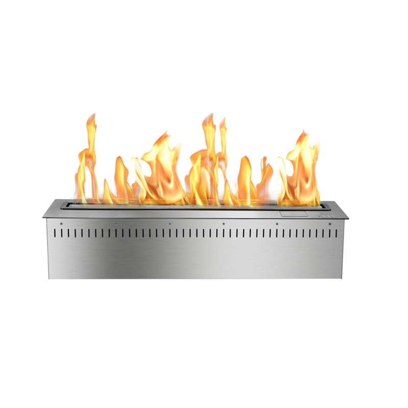 30 Inch Modern Free Standing Fireplace Ethanol
