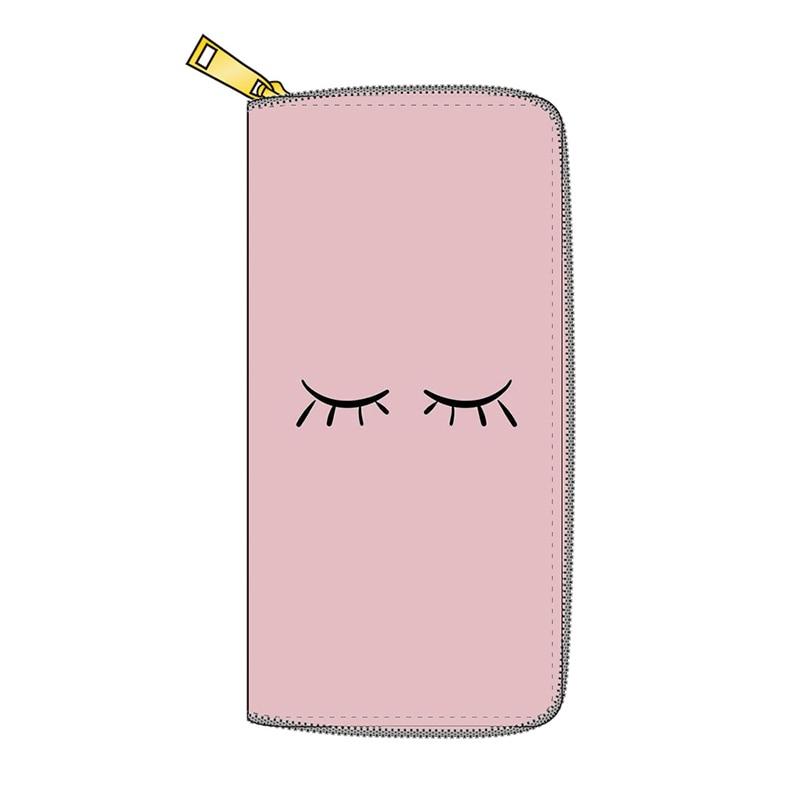 Fashion Women's Long PU Leather Wallet Card Holder Purse Zipper Phone Purse for Women's Money Bag