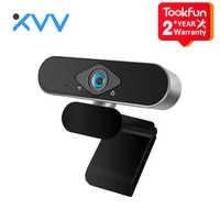 Youpin Xiaovv cámara Web USB 200W píxeles 1080p HD con enfoque automático de 150 grados Super gran angular construido-en el micrófono de reducción de ruido