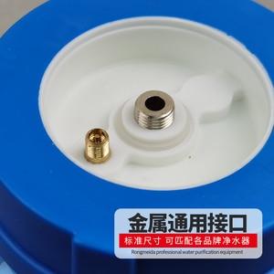 Image 2 - رو تانك 3.2 جالون خزان المياه البلاستيكية الشفافة ل نظام التناضح العكسي