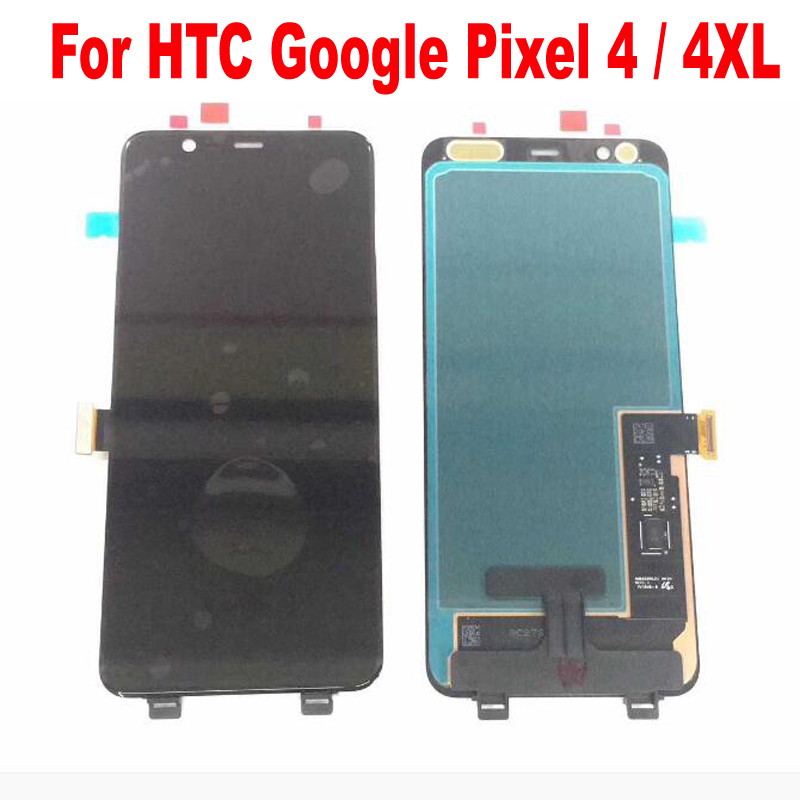 100% Tested Working <font><b>LCD</b></font> Display Touch <font><b>Screen</b></font> Digitizer Assembly Glass Panel Sensor For HTC <font><b>Google</b></font> <font><b>Pixel</b></font> 4 / 4XL Pantalla image