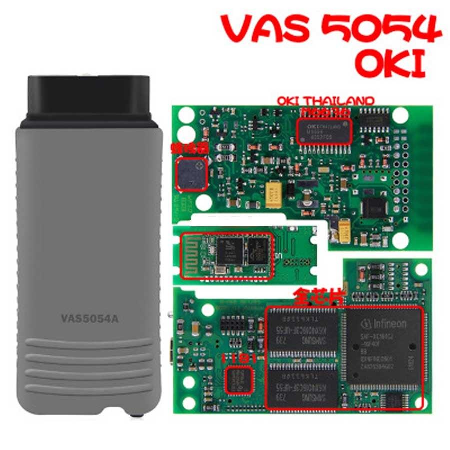 New Original VAS 5054A ODIS V4.4.10 Full OKI Chip VAS5054A ODIS 4.3.3 AMB2300 For UDS Protocols OBD OBD2 Diagnostic Tool
