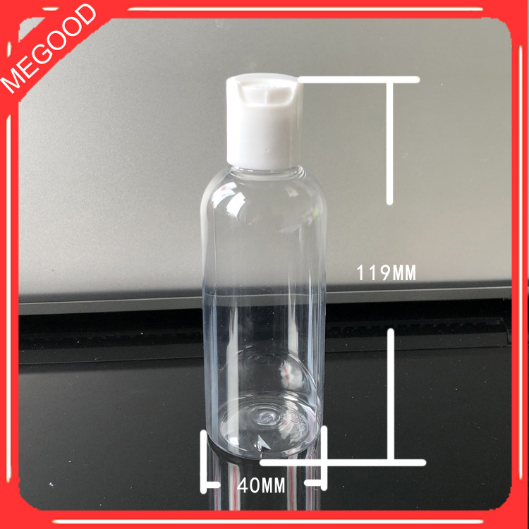 10pcs 100M Transparent Empty Emulsion Bottle PET Makeup Cream Containers E Liquid Bottle Large Capacity Cosmetic Sub-bottle
