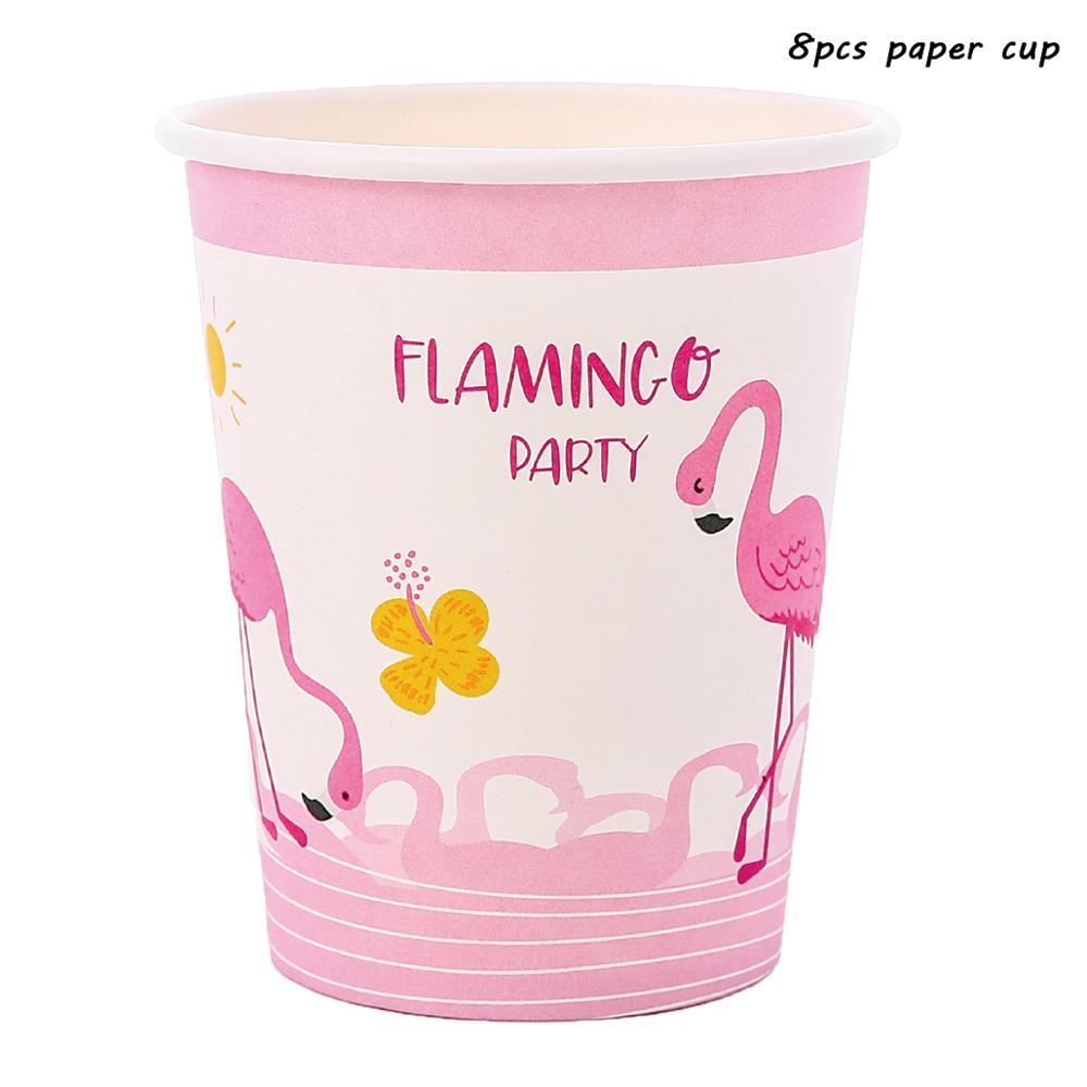Rosa Flamingo VERANO FIESTA GAMA-Vajilla /& Decoraciones Cumpleaños Luau {1 c}