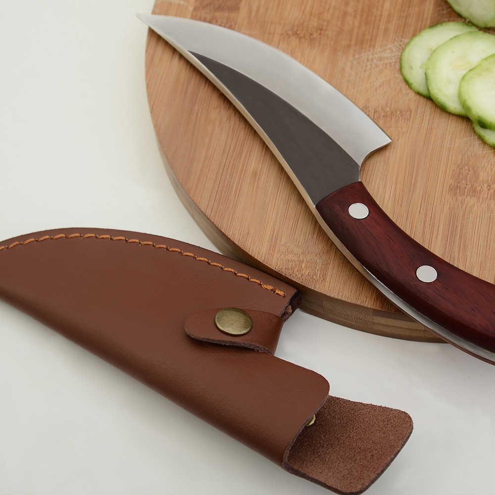 XYj 5,5 zoll Metzger Wies Messer High Carbon Stahl Schmieden Boning Messer Handgemachte Geschmiedet Chef Kochen Küche Messer BBQ Werkzeug