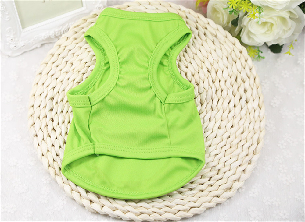 Pet Cat Clothes for Cats Summer Vest T Shirt Dog Cat Clothes Costume for Small Dogs Cartoon Vest for Puppy 35 (23)