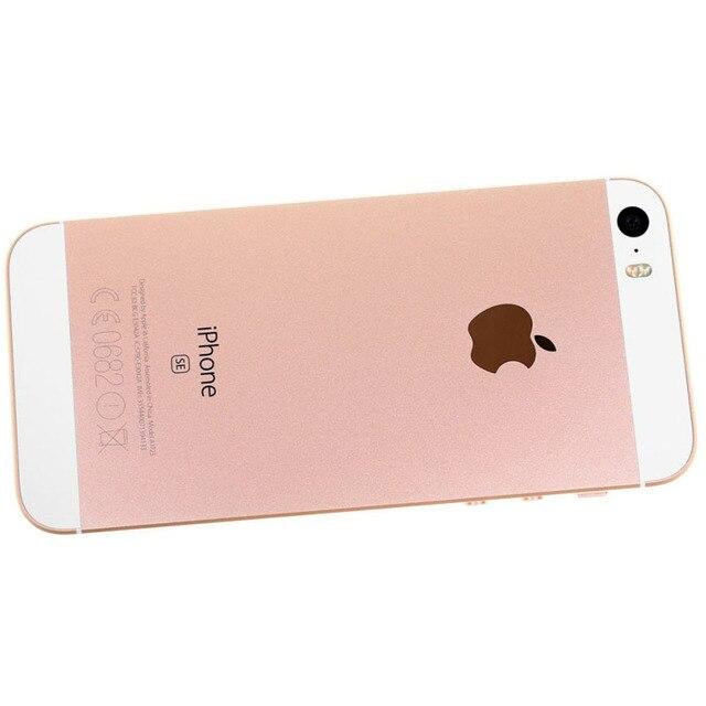 Apple iPhone SE Original Unlocked Mobile Phone 16/64GB ROM 2G RAM 4G LTE Touch ID WIFI GPS Dual Core 4.0'' 12MP iOS CellPhone 2