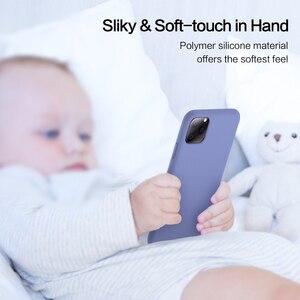 Image 4 - SmartDevil מוצק צבע סיליקון טלפון מקרה עבור Iphone 11 פרו מקסימום 7 8 בתוספת XR X XS מקס זוגות חמוד צבעים בוהקים רך פשוט מקרי