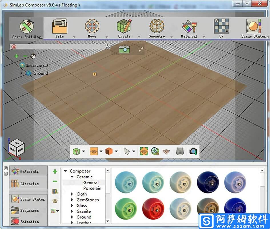 SimLab Composer 8 专业3D场景创建软件免费版