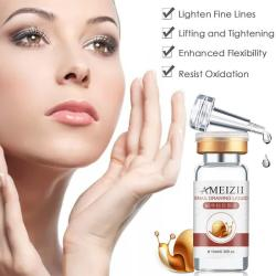 Snail Extract Face Serum Hyaluronic Acid Anti Wrinkle Anti Aging Collagen Whitening Moisturizing Face Care Beauty TSLM2