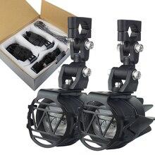 Para bmw r1200gs frente suportes para led luzes de condução para bmw r 1200 gs aventura lc f650gs f800gs f700gs motocicleta faróis