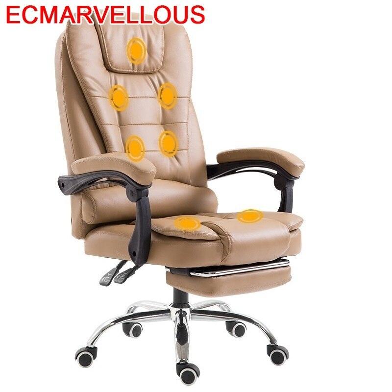 Gamer Chaise Ordinateur Sillones Sedia Ufficio Sessel Cadir Bureau Leather Computer Poltrona Silla Gaming Cadeira Massage Chair