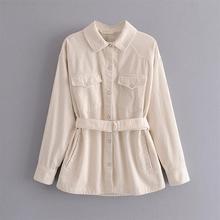 2020 early autumn new women's fashion all-match slim waist l