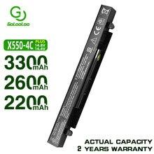 Golololo bateria 3300mah A41-X550 para laptop, para asus x450 x550 x550c x550a pro x550ca a450 a550 f552 k550 p550