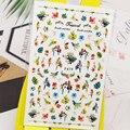 3D наклейки для ногтей, наклейки, попугай, птица, цветы, дизайн, дизайн ногтей, украшения, наклейки, слайдеры, аксессуары для маникюра, украшен...