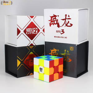 Image 2 - Moyu Weilong GTS3M Magnetic Cube 3x3x3 Magic Cube Speed GTS3 GTS2 GTS2M Original Cube 3x3 Magico Cubo 3*3*3 Black Stickerless