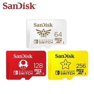 Newest SanDisk 256GB Micro SD Card U3 128GB Flash Card 64GB Memory Card 4K Ultra HD TF Card Original For Nintendo Switch