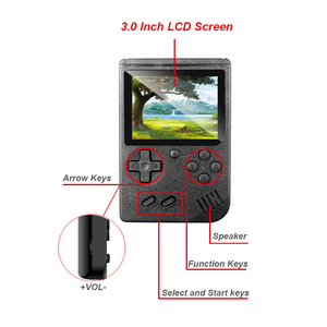 Image 3 - Classic Handheld Game Players Console Retro Electronic Gamepad Box 3.0inch TFT LCD Screen TV AV OUT For Child Gift