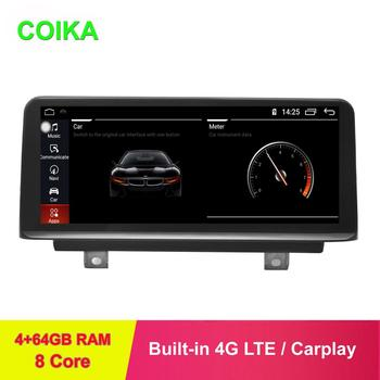 COIKA IPS Touch 8 Core Android 9.0 System Car Screen For F30 F31 F32 F33 F34 F36 2012-2017 Head Unit GPS Navi WIFI BT 4+64GB RAM