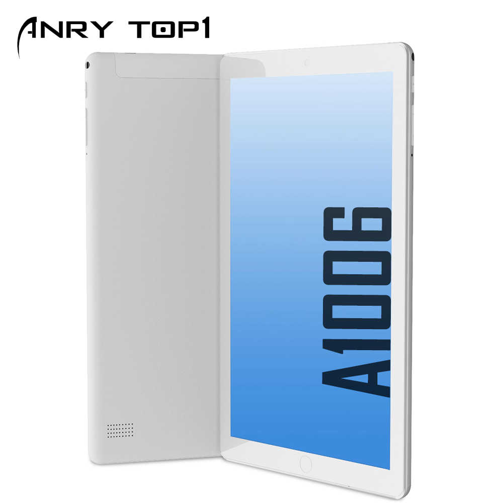 ANRY Android Tablet met SIM Card Slot 10 inch IPS Scherm Quad Core 4GB RAM 64GB ROM 3G Phablet met WiFi GPS Bluetooth Tablet