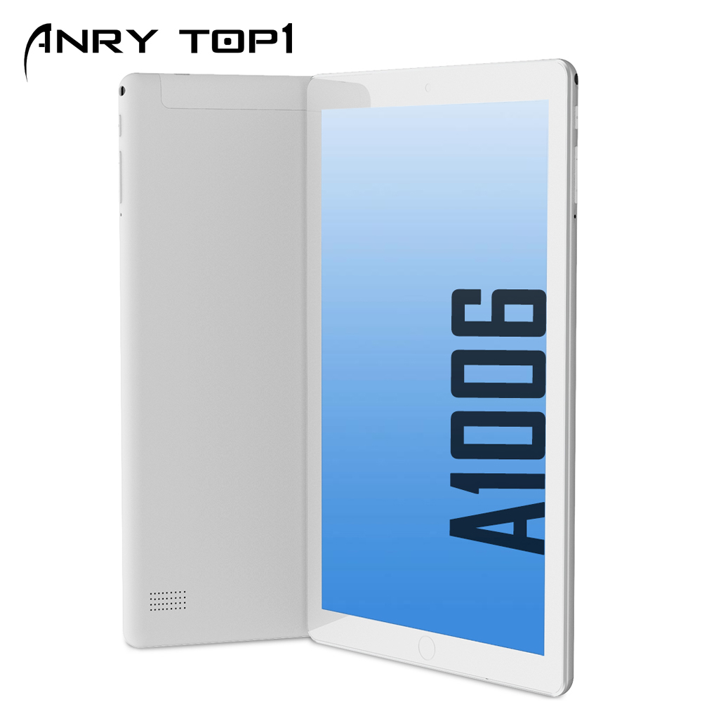 ANRY Android Tablet With SIM Card Slot 10 Inch IPS Screen Quad Core 4GB RAM 64GB ROM 3G Phablet With WiFi GPS Bluetooth Tablet